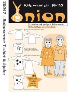 Bilde av Onion 20047 genser og kjole med raglanerme