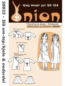 Bilde av Onion 20032 Omslagstopp/kjole og skjørt