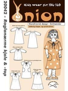 Bilde av Onion 20042 Kjole med raglanerme