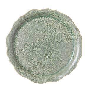 Bilde av Sthål - rundt serveringsfat / pizzafat, Antique
