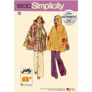 Bilde av Simplicity 6630 Cape