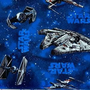 Bilde av Bomull Star Wars blå