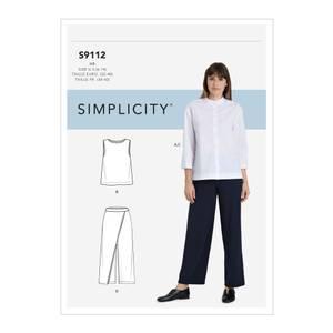 Bilde av Simplicity S9112 Topp og bukse
