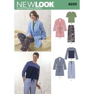 Bilde av New Look 6233 Pysjamas og slåbrok