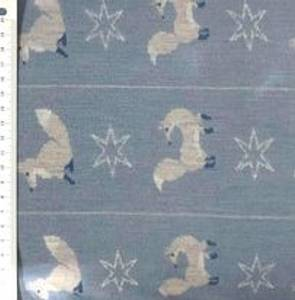 Bilde av Mønstersrikket  ull med rev og stjerner