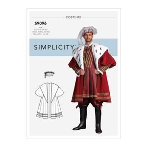 Bilde av Simplicity S9096 Kostyme historisk