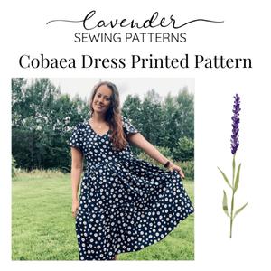 Bilde av Lavender Sewing Patterns - Cobeae Dress