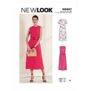 Bilde av New Look N6667 Enkel selskapskjole