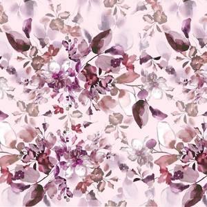 Bilde av Jersey akvarell blomst rosa