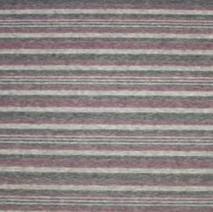 Bilde av Stretch velour striper rosa og grå
